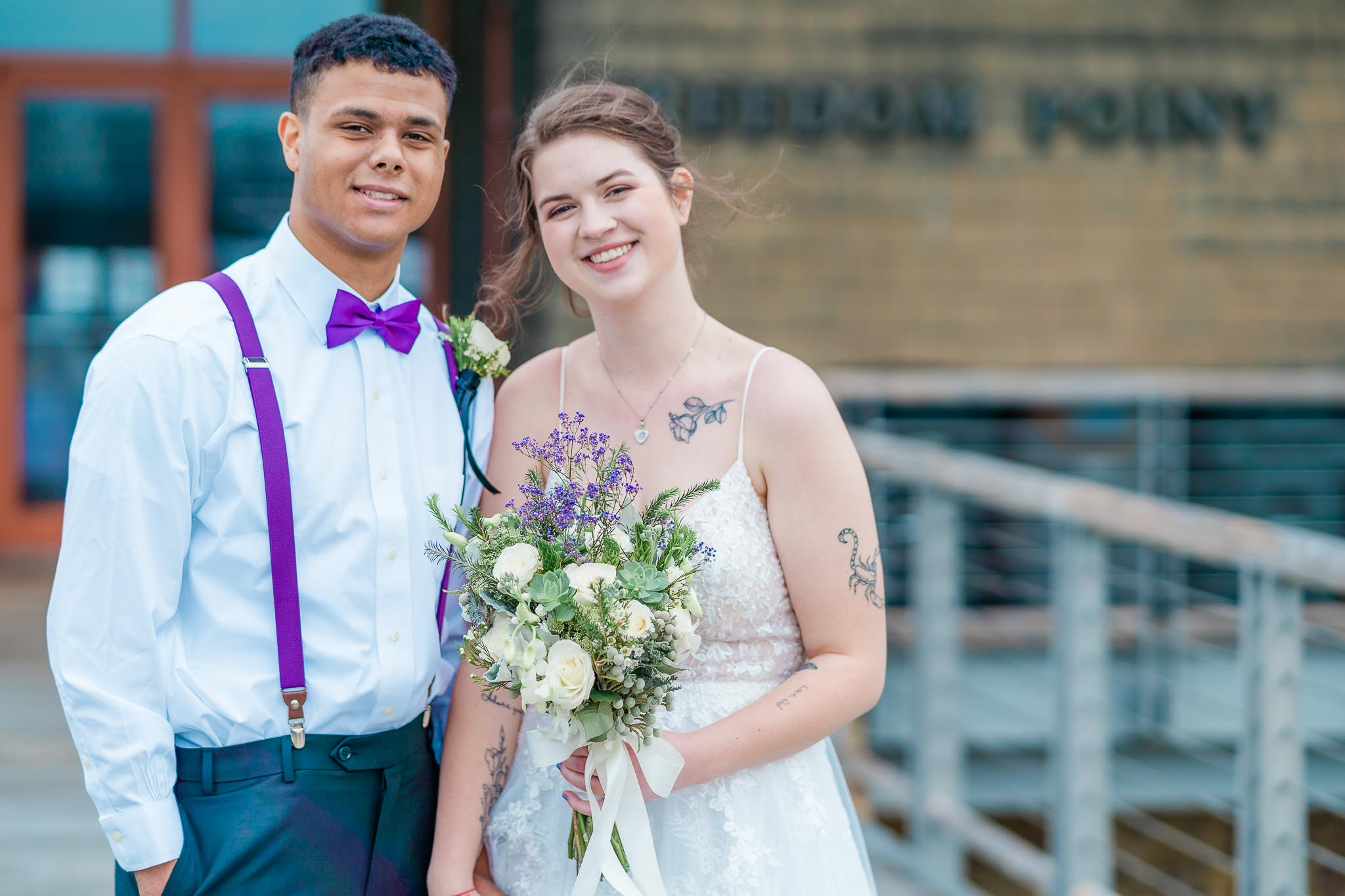 Freedom Point at Liberty Park - Clarksville, TN Wedding Photography - Madeline + James-8