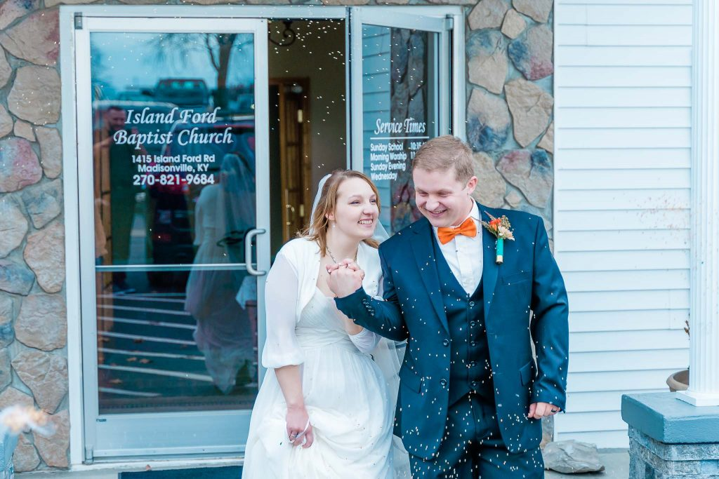 Island Ford Baptist Church - Madisonville, KY Wedding Photography - Anna + Caleb-11