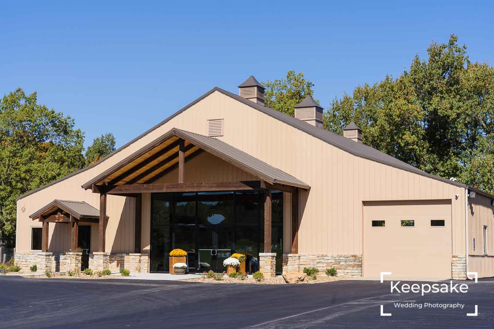 The Event Barn at Mahr Park Arboretum - Keepsake Wedding Photography-1