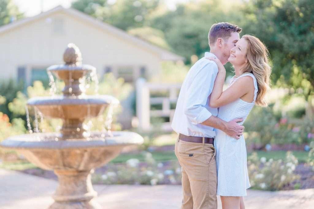 Western Kentucky Botanical Garden - Owensboro, KY Engagement Session - Emily + Jacob-10
