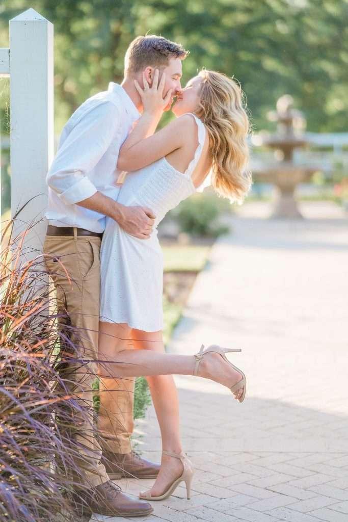Western Kentucky Botanical Garden - Owensboro, KY Engagement Session - Emily + Jacob-11