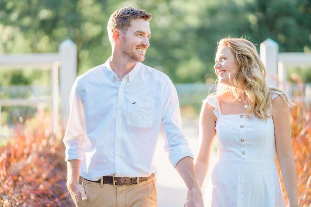 Western Kentucky Botanical Garden - Owensboro, KY Engagement Session - Emily + Jacob-12