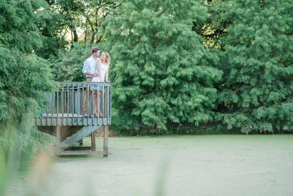 Western Kentucky Botanical Garden - Owensboro, KY Engagement Session - Emily + Jacob-3