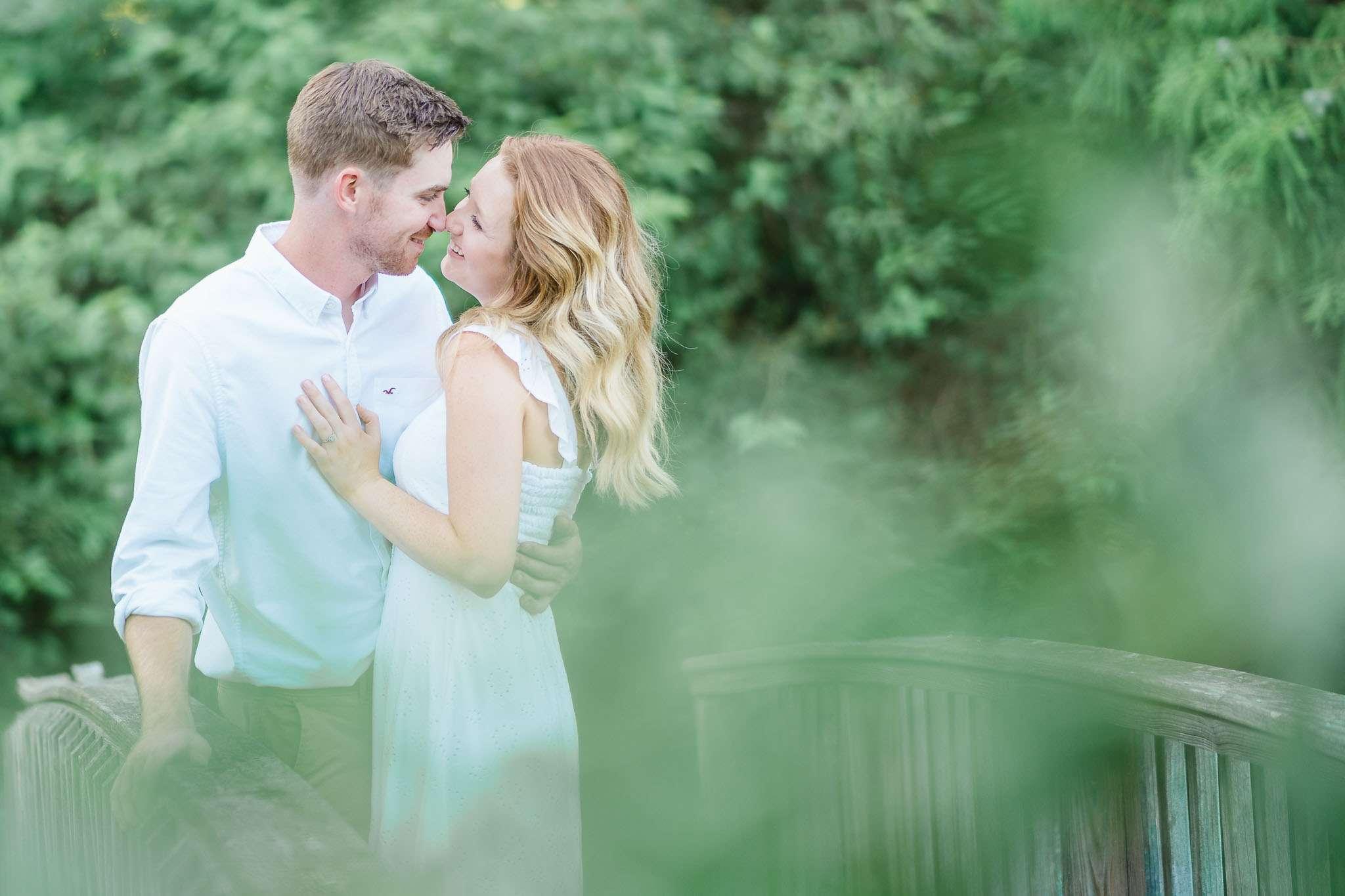 Western Kentucky Botanical Garden - Owensboro, KY Engagement Session - Emily + Jacob-5