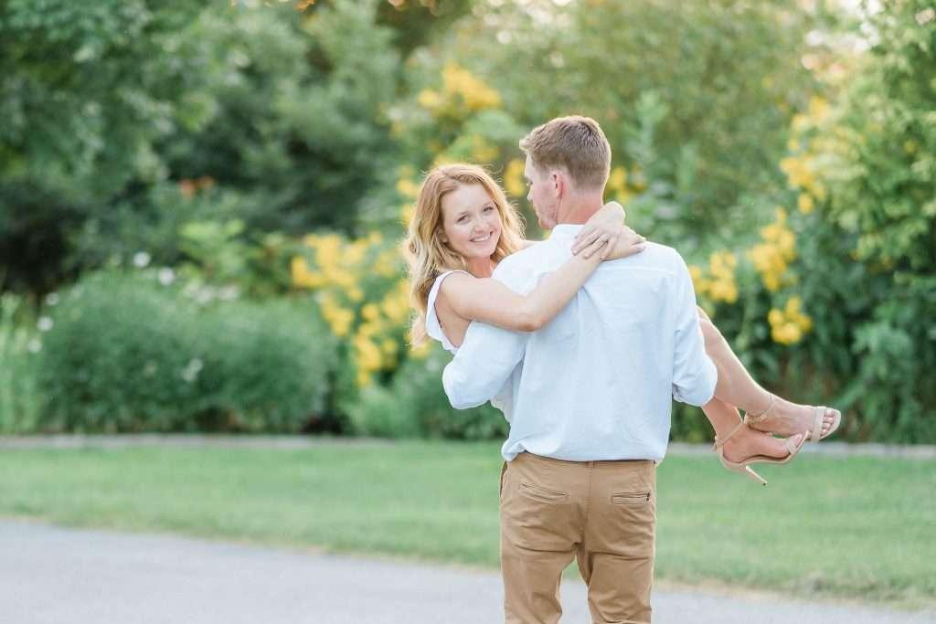 Western Kentucky Botanical Garden - Owensboro, KY Engagement Session - Emily + Jacob-8