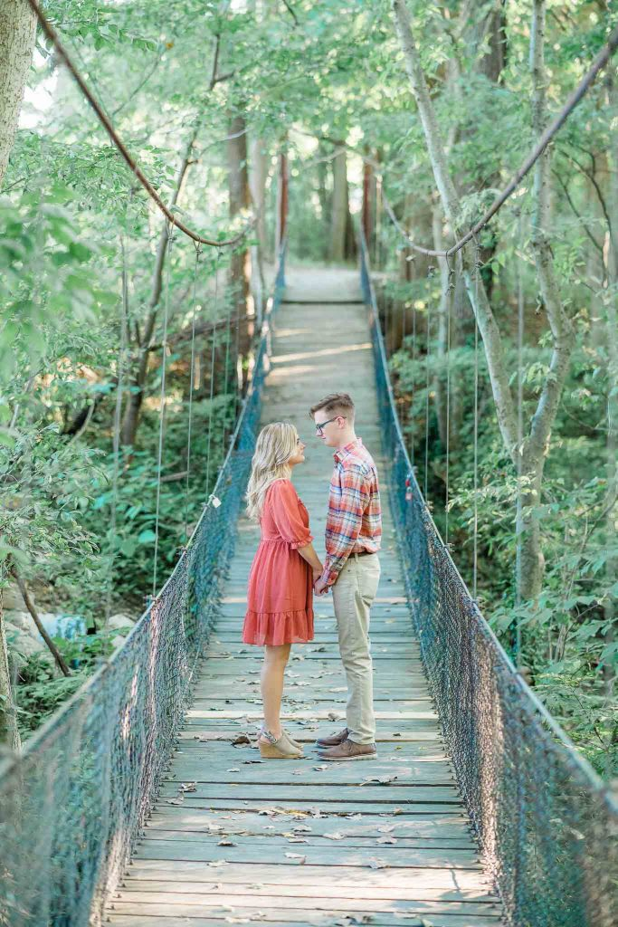 Yellow Creek Park - Owensboro, KY Engagement Session - Claire + Sam-7